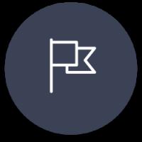 Vlag icoon